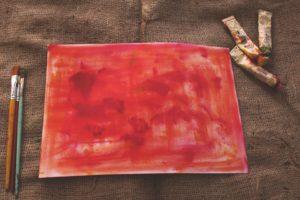 Art, paint. paper.